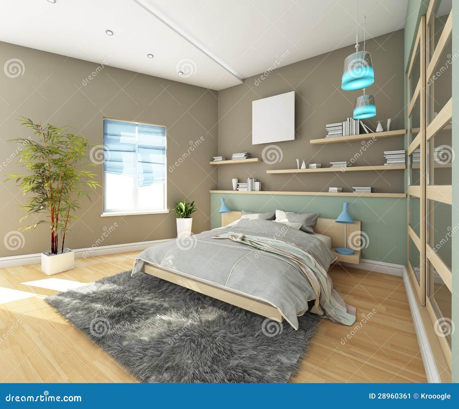jugendlich schlafzimmer mit teppich stockbild  bild 28960361