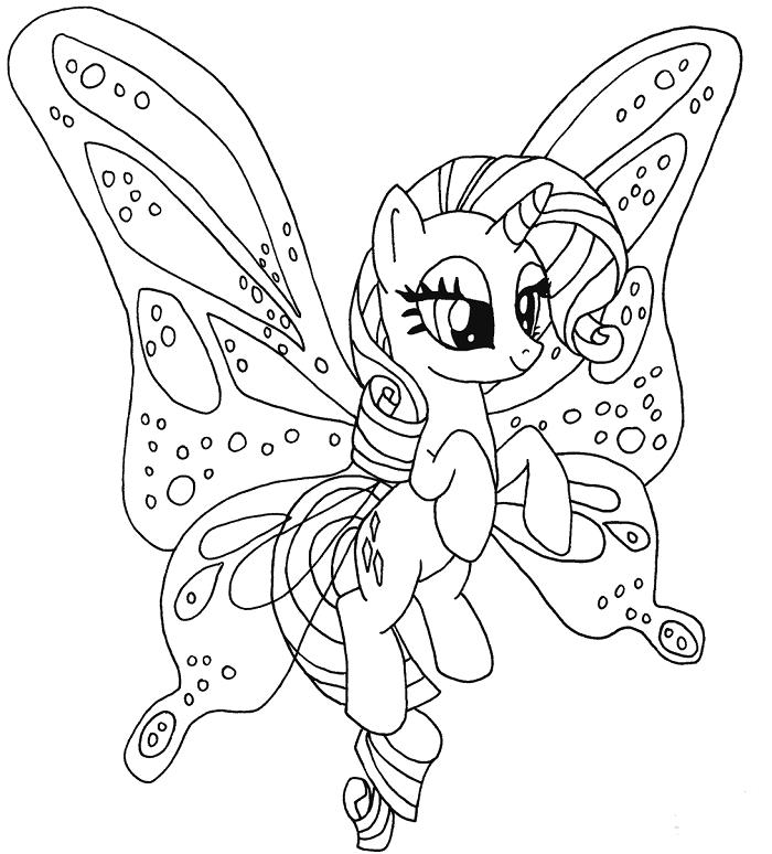 My Little Pony Boyama Sayfaları