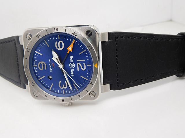 Bell Ross GMT Watch
