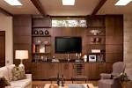 Traditional Living Room With Built In Tv Unit 2212 Modern Tv Wall ...