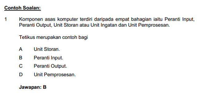 Contoh Soalan Dan Jawapan Graf Pengajian Am - Malacca b