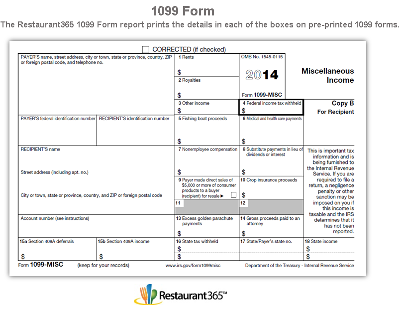 New Form 1099 Printable