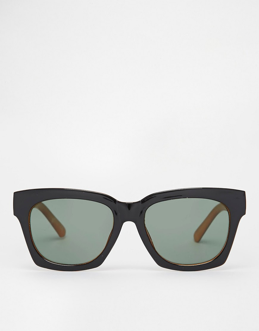 Image 2 of ASOS Chunky Square Sunglasses