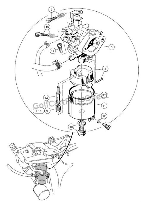 Carburetor - FE350 - GolfCartPartsDirect