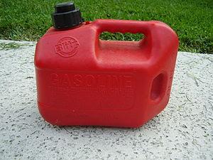 Container of Gasoline