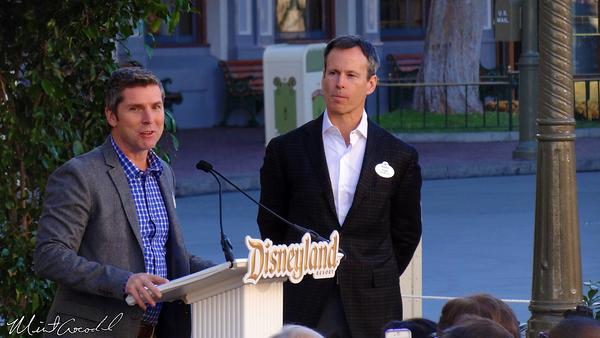 Disneyland Resort, Disneyland, Main Street, Tony Baxter, Window, Dedication, Ceremony