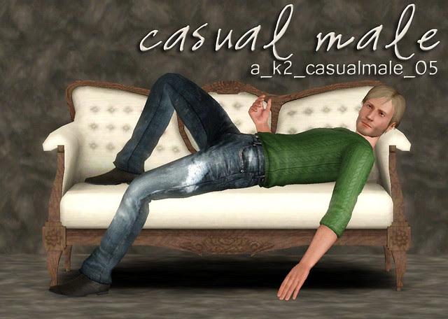 Casual Male - Pose 05