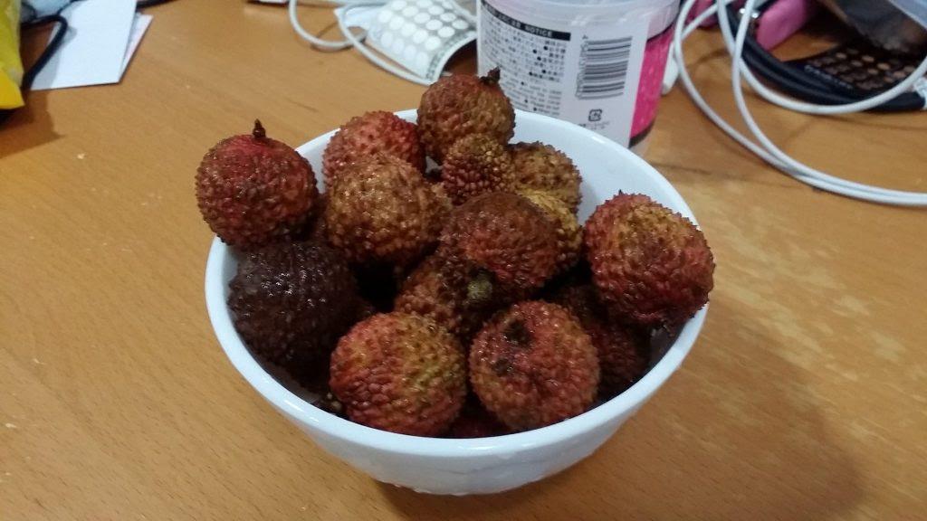 東莞産の桂味荔枝
