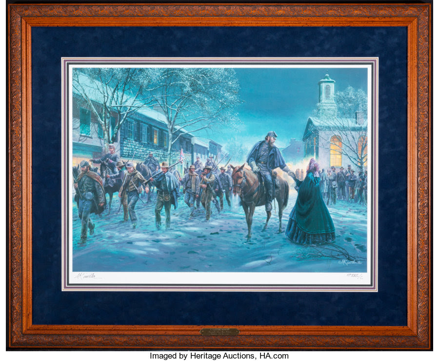 Art, Mort Künstler. A Fleeting Moment (2003). 26x18 inches. AP22 of 100.Condition: Very Good. Accompanied by certificate of auth... Image #1