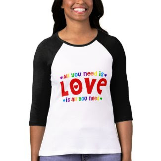 All You Need is Love Raglan T-Shirt