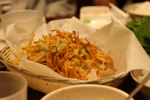 Onion and Potato Patties