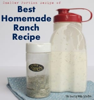 Homemade Dry Ranch Mix Recipe