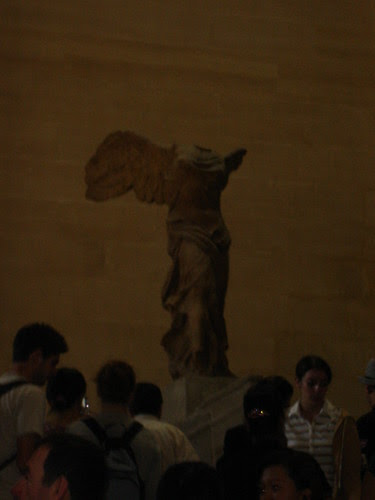 Winged Victory closer up