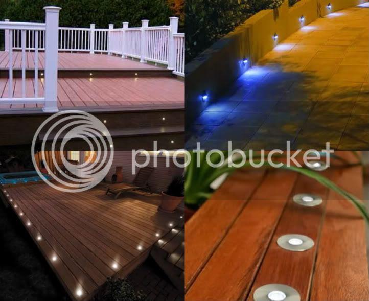 Multi Color Deck Courtesy Landscape LED Lighting Kit | eBay
