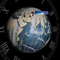Landsat timeline logo