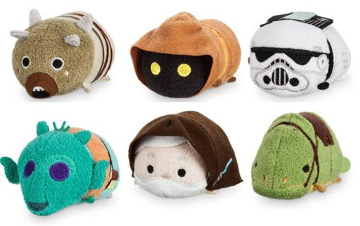 Star Wars Tatooine Tsum Tsum Official Release Date & Glam Shots | Anakin and His Angel