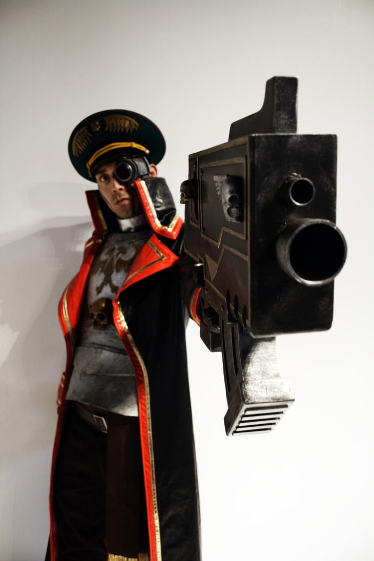Lord Commissario W40k by Kuneo-kun