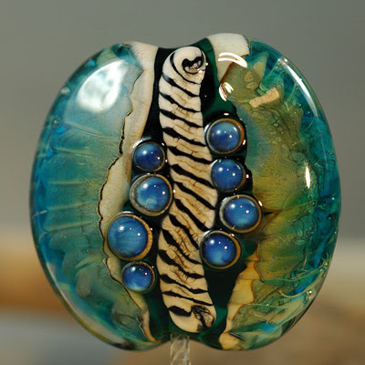 Lampwork Glass Bead 4-21-09