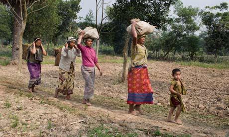 mandi women working