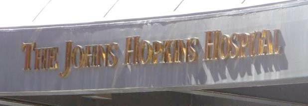 The Johns  Hopkins Hospital Sign HomeRome.com