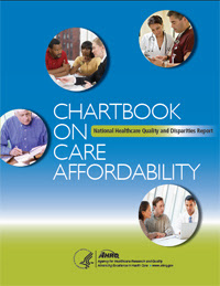Cover of the Care Affordability Chartbook