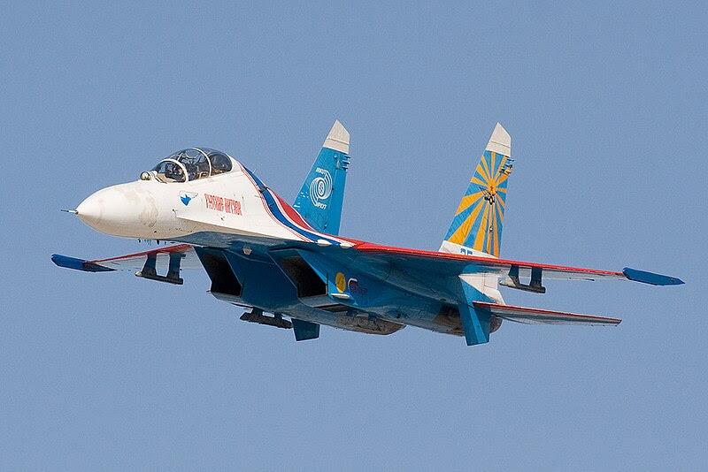 Sukhoi Su-27: Voos Suspensos