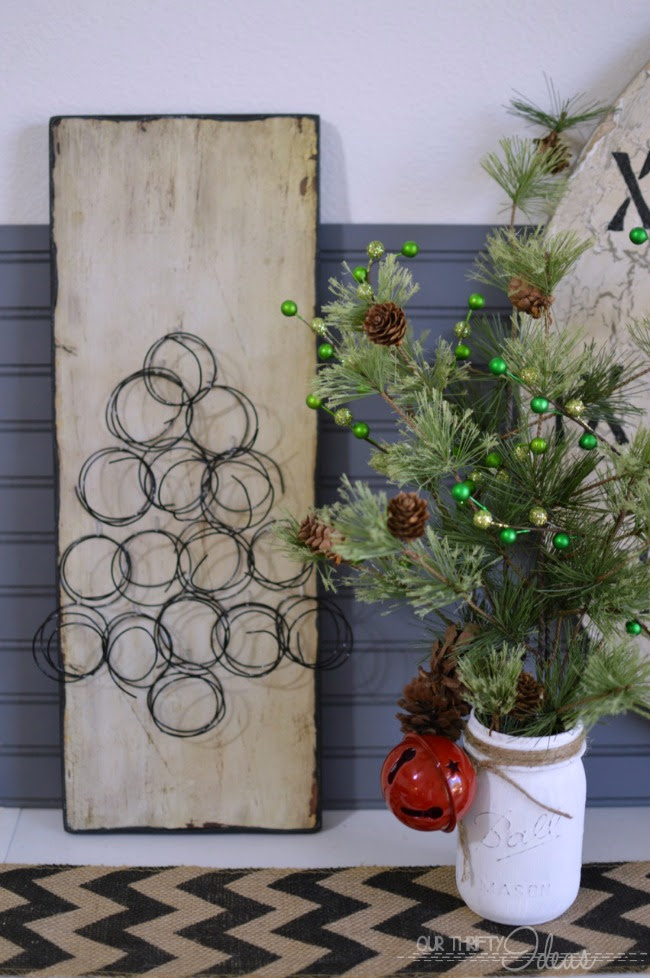 ... Christmas Tree our of springs, and you can DIY your own faux springs