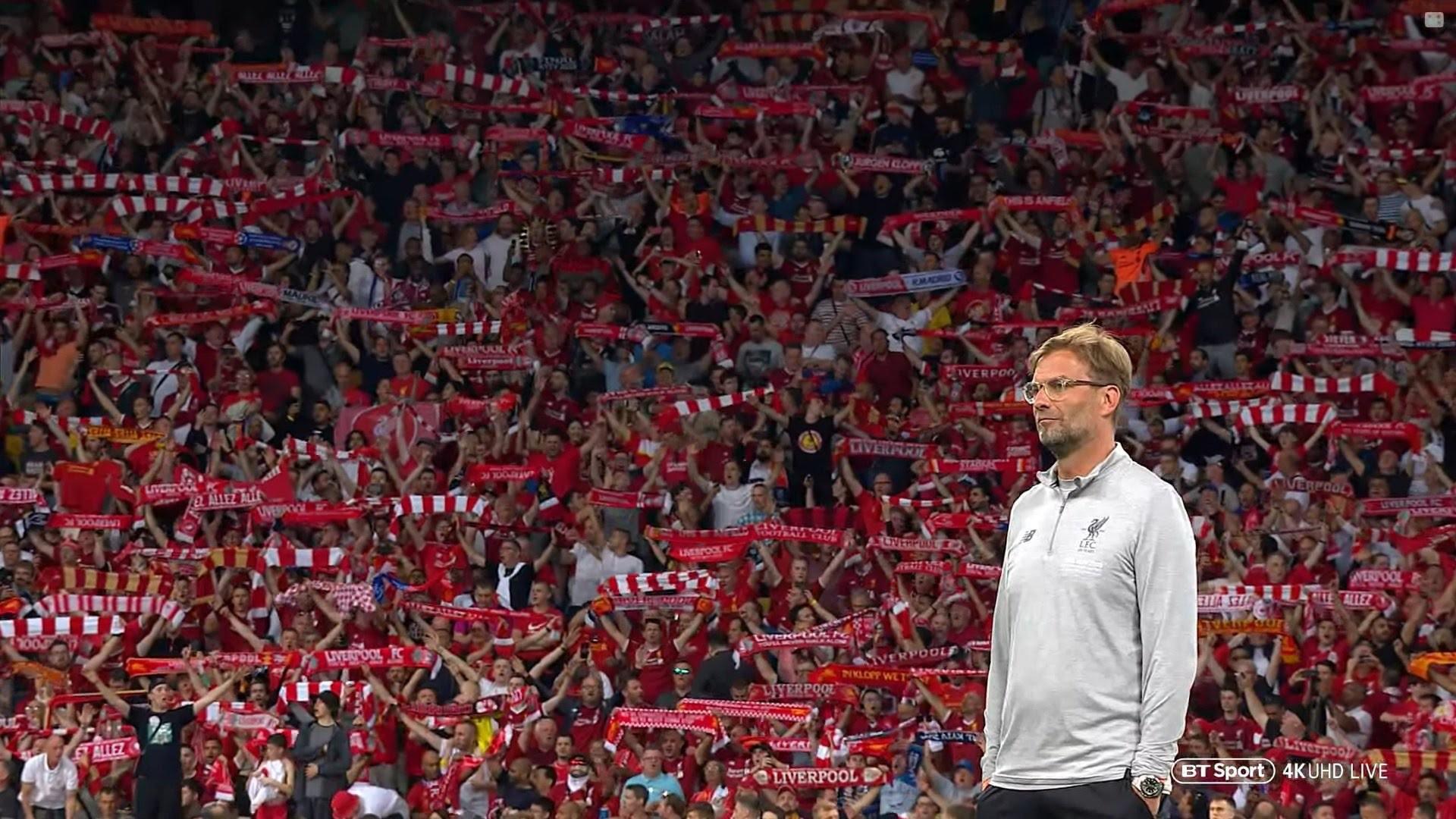 Liverpool Champions League Wallpaper 1920x1080