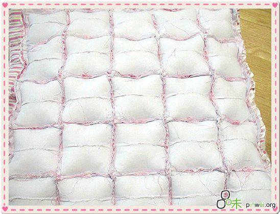 Etapas de costura de colchão