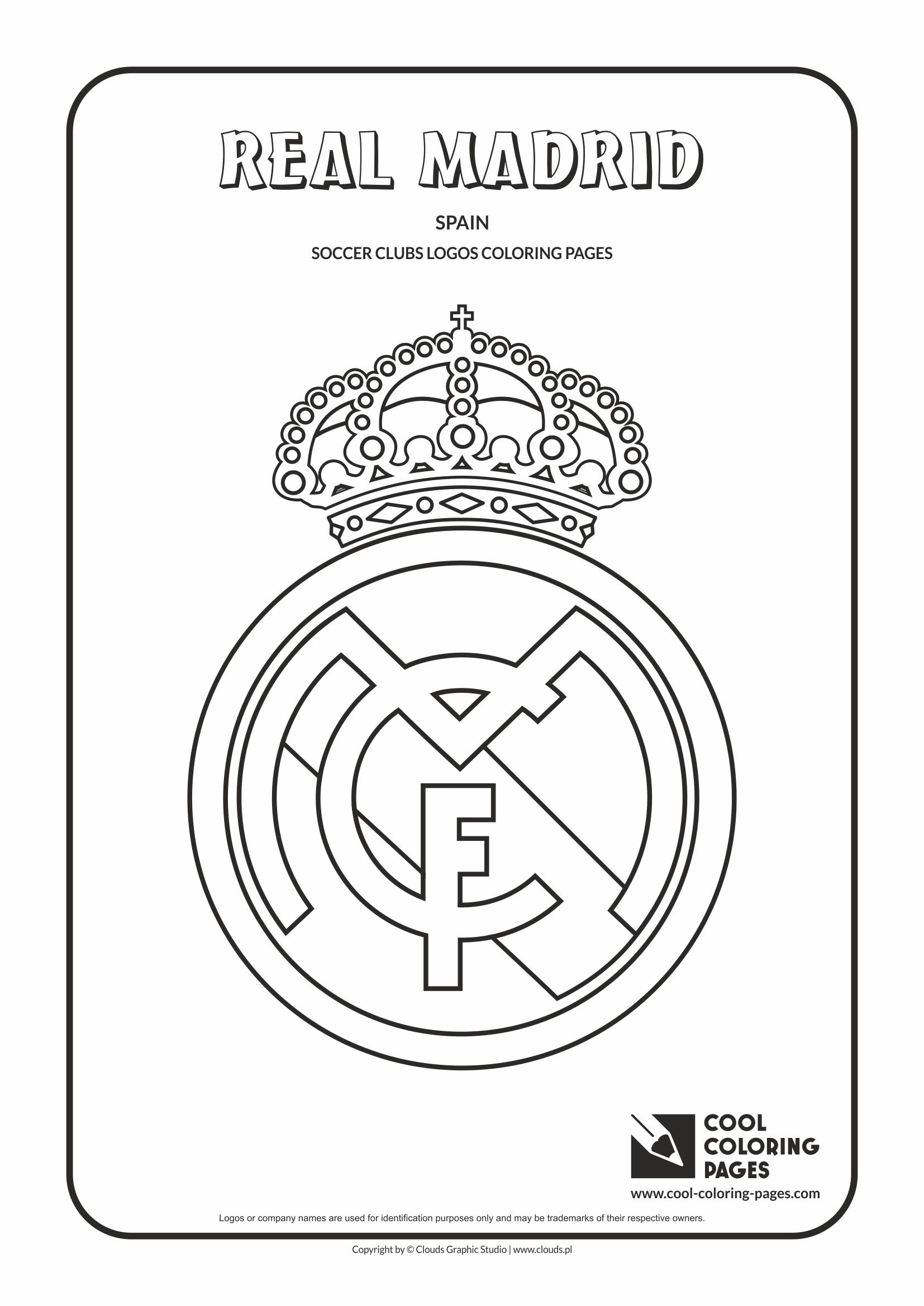 real madrid logo coloring page real madrid fc transfer news blogger