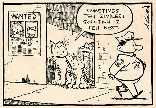 Laugh-Out-Loud Cats #1948 by Ape Lad