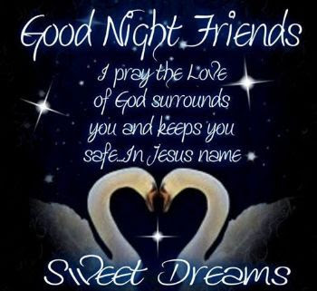 Good Night God Bless Quotes Images Free Download