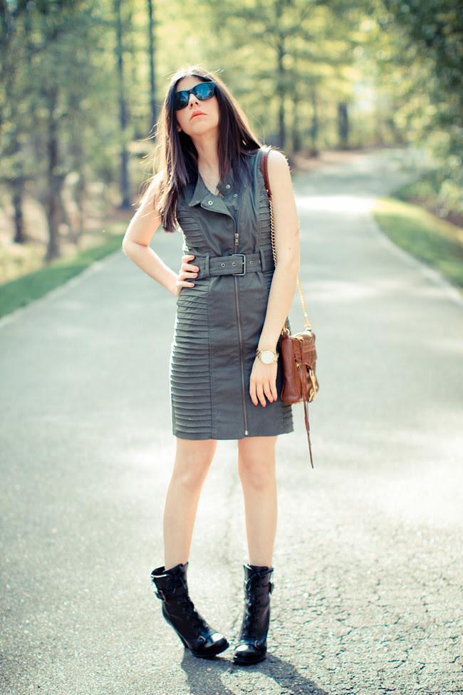 The Beatles Dress, Supertrash Fashion, Rebecca Minkoff bag, Gold Marc Jacobs Watch