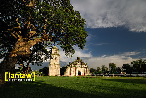 Paoay Church Late Afternoon