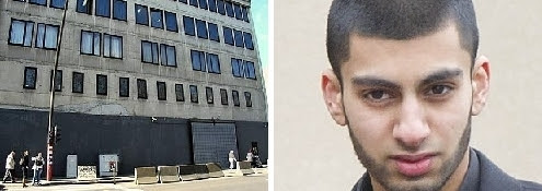 Left: The high-security Athénée Maïmonide; Right: Adil Rashid