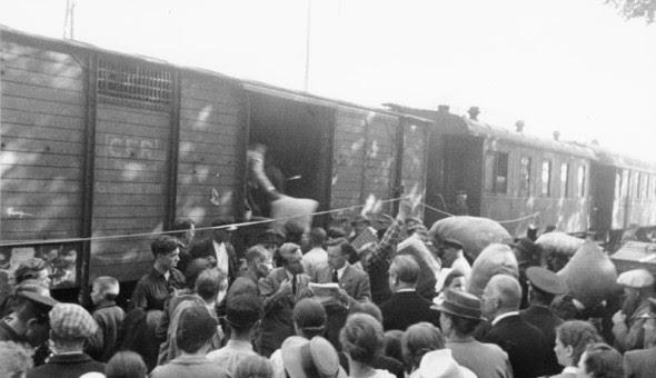 Bessarabien, Abtransport von Umsiedlern