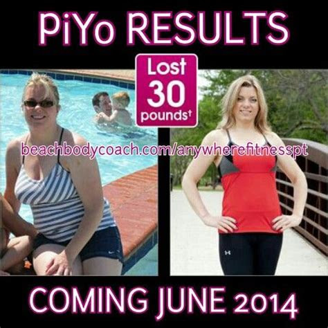 piyo amy lost lbs   results find