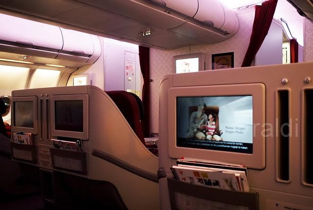 Cabin A330-200 Garuda Indonesia