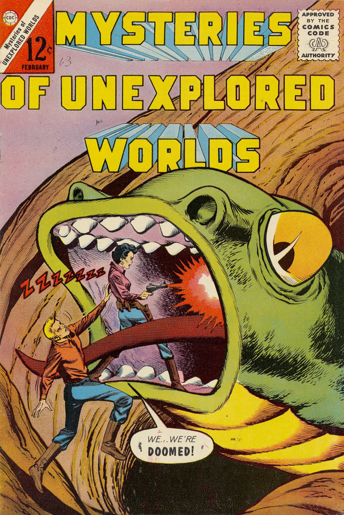 Mysteries of Unexplored Worlds #34 (Charlton, 1964)