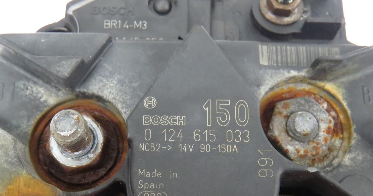 Reyhan Blog  Bosch Alternator Br14 M3