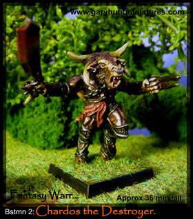 Clovis Beastmen Hero's figure