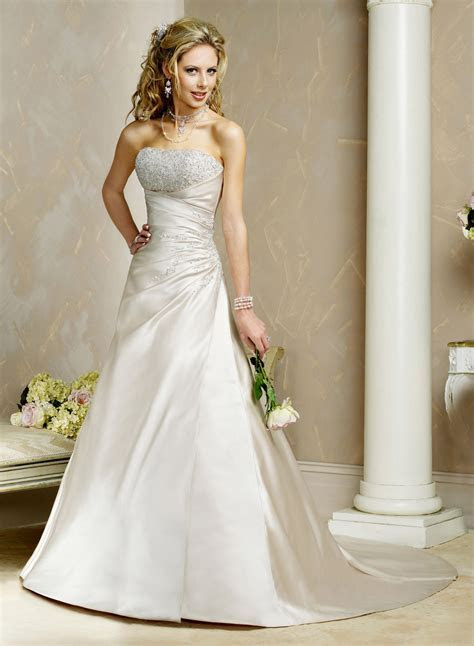Maggie Sottero A line Wedding Dresses   Stylish Eve