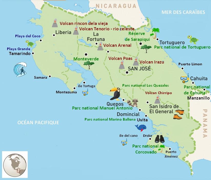 Costa Rica Que Voir Les Incontournables Jolis Circuits
