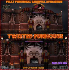 twisted funhouse