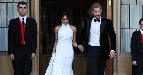 Meghan Markle?s Second Wedding Dress Is by Stella