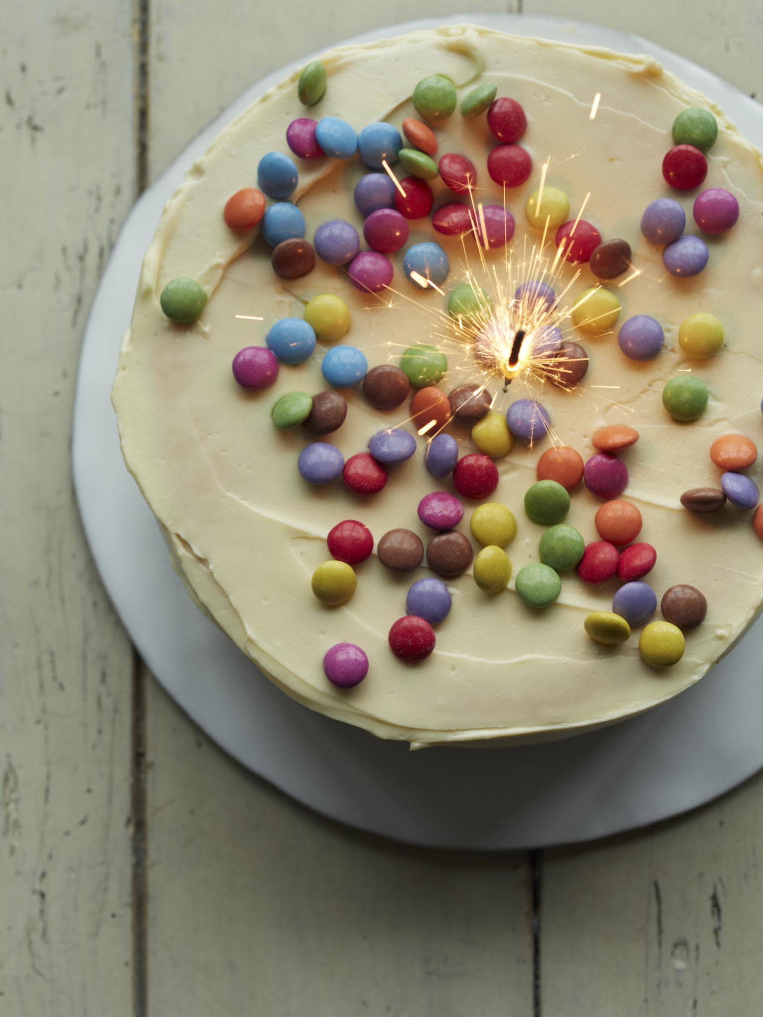 Birthday List Cake Ingredients