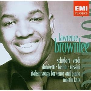 Lawrence Brownlee: Songs / Lieder / Melodies