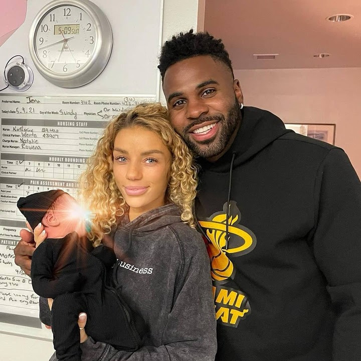 Singer Jason Derulo welcomes his first child with girlfriend Jena Frumes, a baby boy?