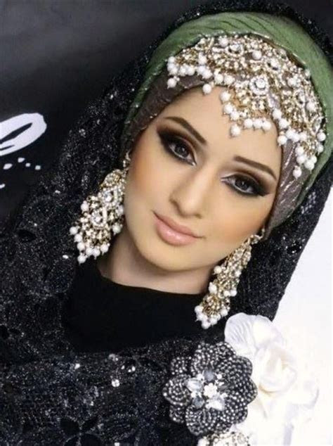 Muslim Wedding Headdress   Stylish Hijab Wrapping with