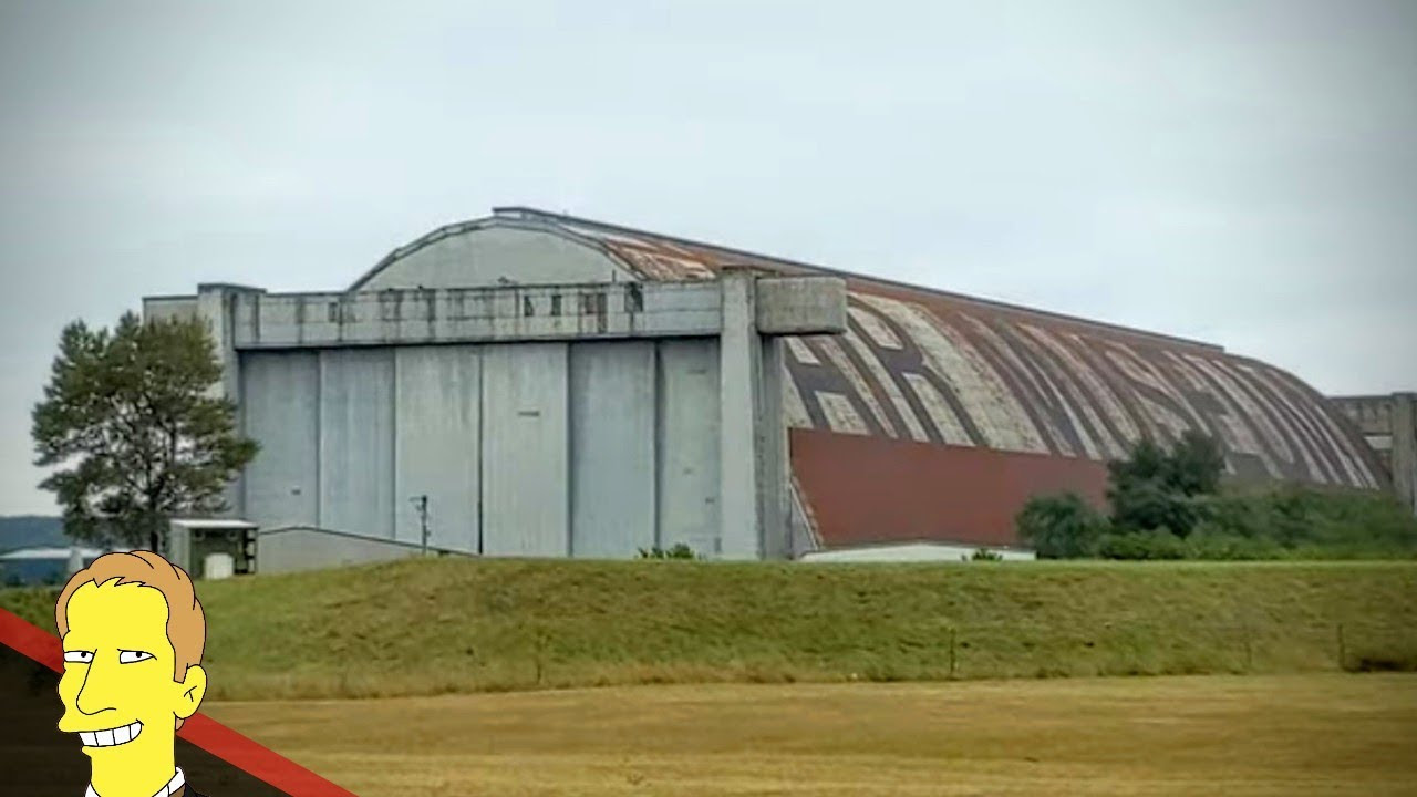 Concrete World War II Blimp Hangar in Tillamook Oregon